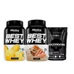 Best Whey 900g - Inove Nutrition (2 Potes)+ Maltodextrina 1kg - Black Skull !!