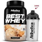 Best Whey - Peanut Butter (manteiga de Amendoim) - 900g - Atlhetica Nutrition