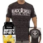 Best Whwy 900g + Camiseta Black Skull Tshirt Special Force!!!