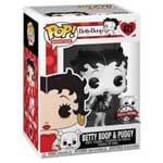 Betty Boop e Pudgy 421 Exclusivo Pop Funko