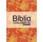 Bíblia Colorida Jovem Laranja