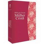 Bíblia de Estudo da Mulher Cristã - Grande (magenta Luxo)