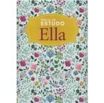 Bíblia de Estudo Ella NVI Floral