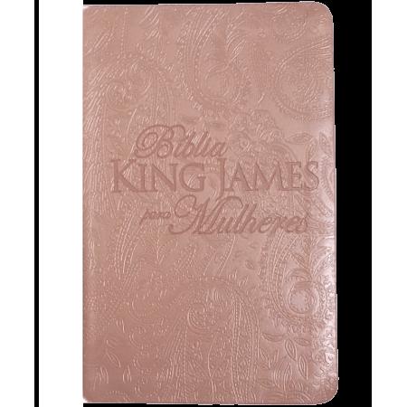 Bíblia de Estudo King James para Mulheres Rose Golg