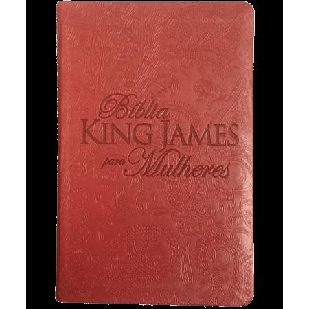 Bíblia de Estudo King James para Mulheres Vermelha