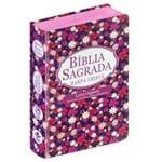 Bíblia GD Harpa LT Gigante Popular Flor