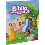 Bíblia Ilustrada Crescendo com Jesus Rosa