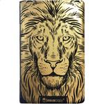Bíblia Jesus Copy Leão - NVI Dourado