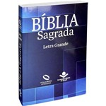 Bíblia Nova Almeida Atualizada Média Letra Grande - Brochura Geométrica