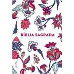 Bíblia Nvt -Flower Branca - Letra Grande
