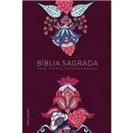 Bíblia Nvt Indian Flowers Vinho Lg Dura