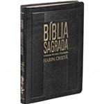 Bíblia Rc Média Slim com Harpa - Luxo Preta