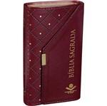 Biblia Sagrada - Carteira Cor Vinho - Sbb