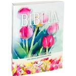 Bíblia Sagrada - Letra Grande - Flores