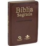Bíblia Sagrada - Popular - Naa - Marrom (capa Luxo)
