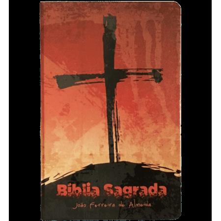 Bíblia Sagrada RC Cruz Artística Capa Dura