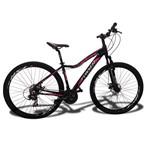 Bicicleta 29 Foxxer Pisa Feminina 21v. F.disco Mecânico
