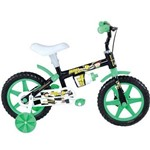 Bicicleta A12 Mini Boy Cor Preta Mb12i Houston