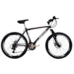 Bicicleta Aluminio Aro 26 Venzo Mx6 Freio a Disco Câmbios Shimano