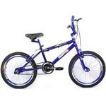 Bicicleta Aro 20 Bmx Cross - Azul