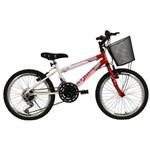 Bicicleta Aro 20 Charmy Vermelha Athor