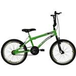Bicicleta Aro 20 Free Action Verde Athor