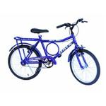 Bicicleta Aro 20 Onix Barrinha Convencional Azul