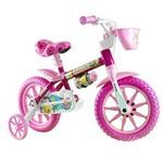Bicicleta Aro 12 Selim e Couro Pu Flower - Nathor