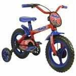 Bicicleta Aro 12 Tk Vermelho e Azul Track Bikes Arco Iris R