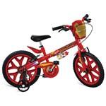Bicicleta Aro 16 com Rodinhas Homem de Ferro Vingadores - Bandeirante