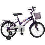 Bicicleta Aro 16 Feminina DOLPHIN - Violeta