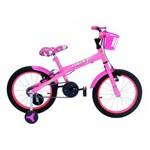 Bicicleta Aro 16 Xt Onix Cor Rosa Chiclete