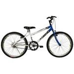 Bicicleta Aro 24 Mtb Sem Macha Legacy Azul Athor