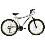 Bicicleta Aro 26 18M Atr Branca e Verde Athor