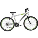Bicicleta Aro 26 18M Jet Branco e Verde Athor Aro 26 Branco;Verde Branco;Verde