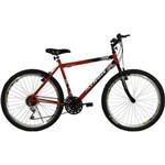 Bicicleta Aro 26 18M Legacy Vermelha Athor