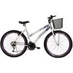 Bicicleta Aro 26 18Mmusa Branco e Violeta Athor