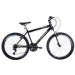 Bicicleta Aro 26 Alumínio Suspensão Dianteira TK600 Preto - Track Bikes