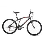Bicicleta Aro 26 Atlantis Mad Preta AT261Q - Houst
