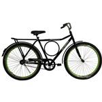 Bicicleta Aro 26 com Aero Executiva Preta Athor
