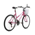 Bicicleta Aro 26 Foxer Hammer Rosa Houston
