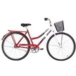 Bicicleta Aro 26 Freio no Pé CP com Cesta Soberana Mormaii