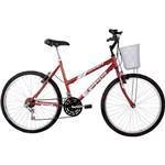 Bicicleta Aro 26 Maori Feminina - Vermelha - Houston