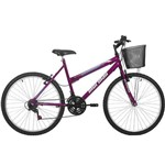 Bicicleta Aro 26 Mormaii Safira 18 Marchas, Violeta