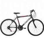 Bicicleta Aro 26 Mormaii Storm 18 Marchas, Preta