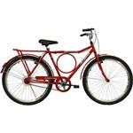 Bicicleta Aro 26 V-Brake Executiva Vermelha Athor