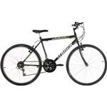 Bicicleta Aro 26 Viper 18 Marchas Preto Fosco - Track & Bikes
