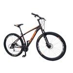 Bicicleta Aro 29 Ksw T-19 24v. F.dis. Prt/laranja