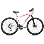 Bicicleta Aro 29 MTB 21V Freio a Disco Suspensão Jaws Mormaii