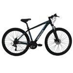 Bicicleta Aro 29ER 21 Velocidades Preto Azul - Venzo Falcon